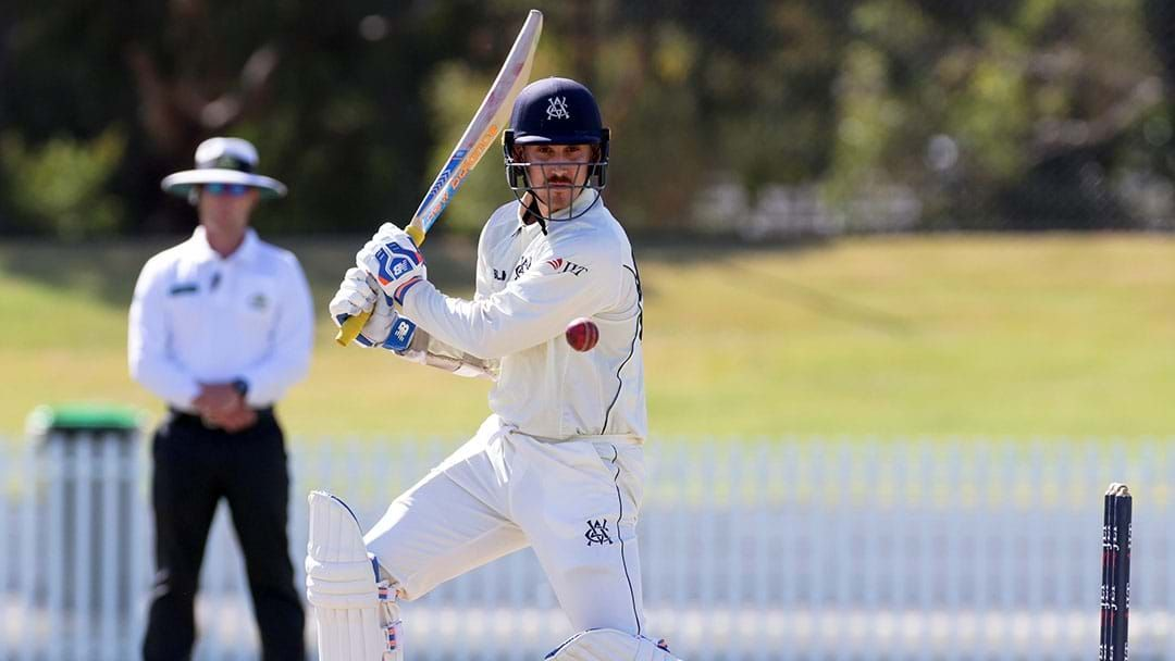 Article heading image for Nic Maddinson Makes A Second Straight Ton For Victoria