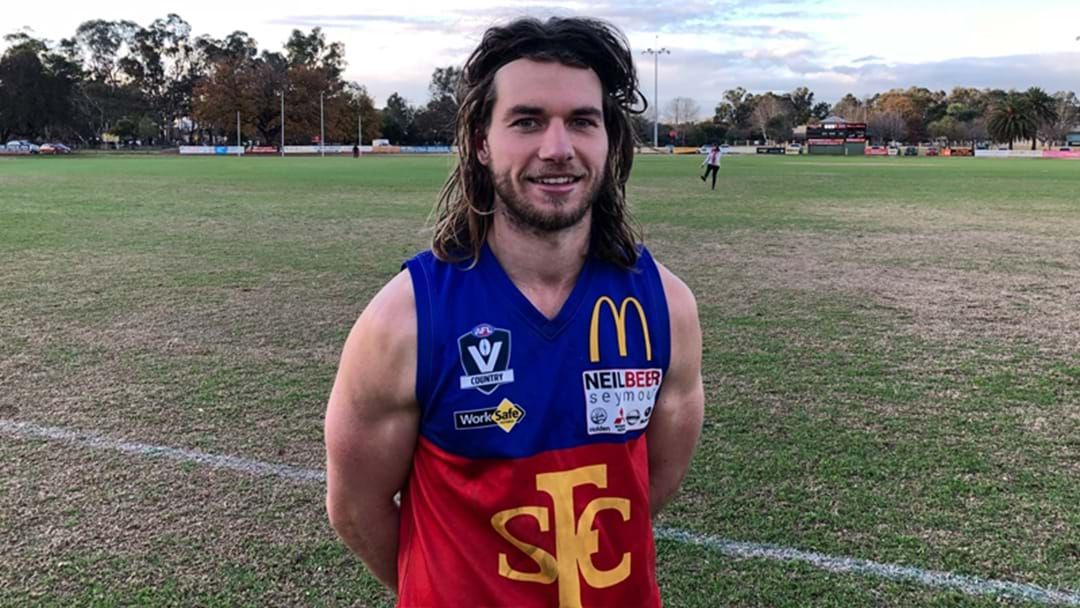 Article heading image for Local Footy Player Reportedly Racks Up 61 Disposals And Six Goals