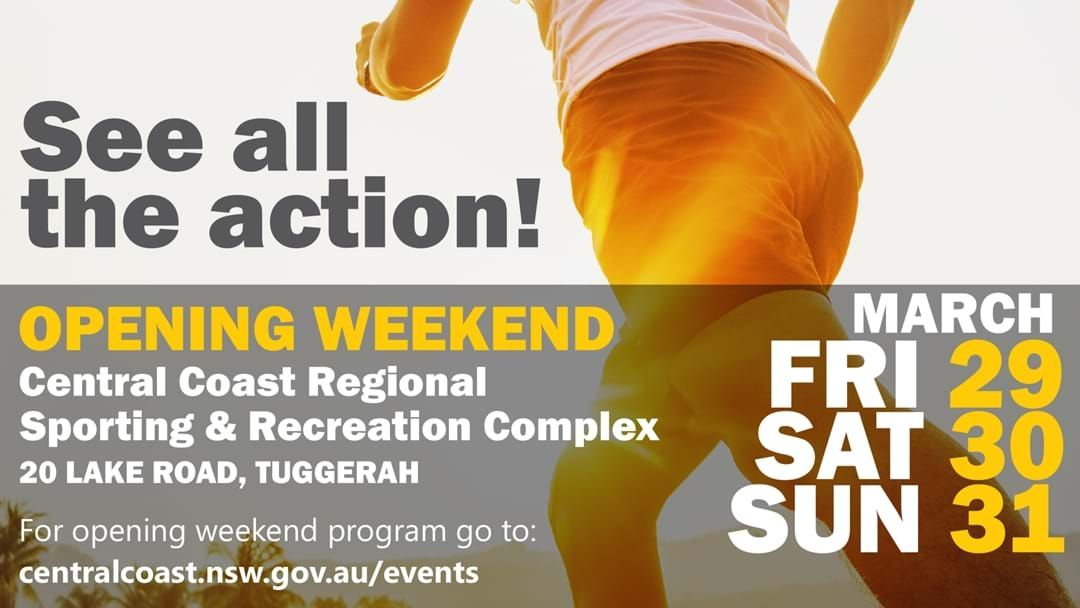 Article heading image for Central Coast Regional Sporting & Recreation Complex Official Opening Weekend