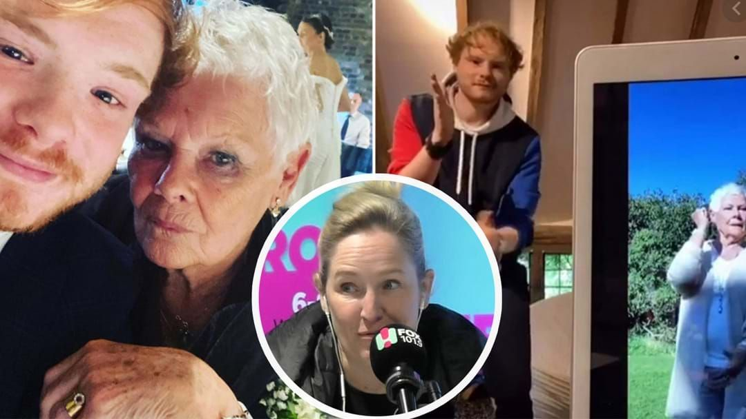 Article heading image for Judi Dench's Grandson Breaks Down What It's Like Recording EPIC TikTok's With His Grandmother!