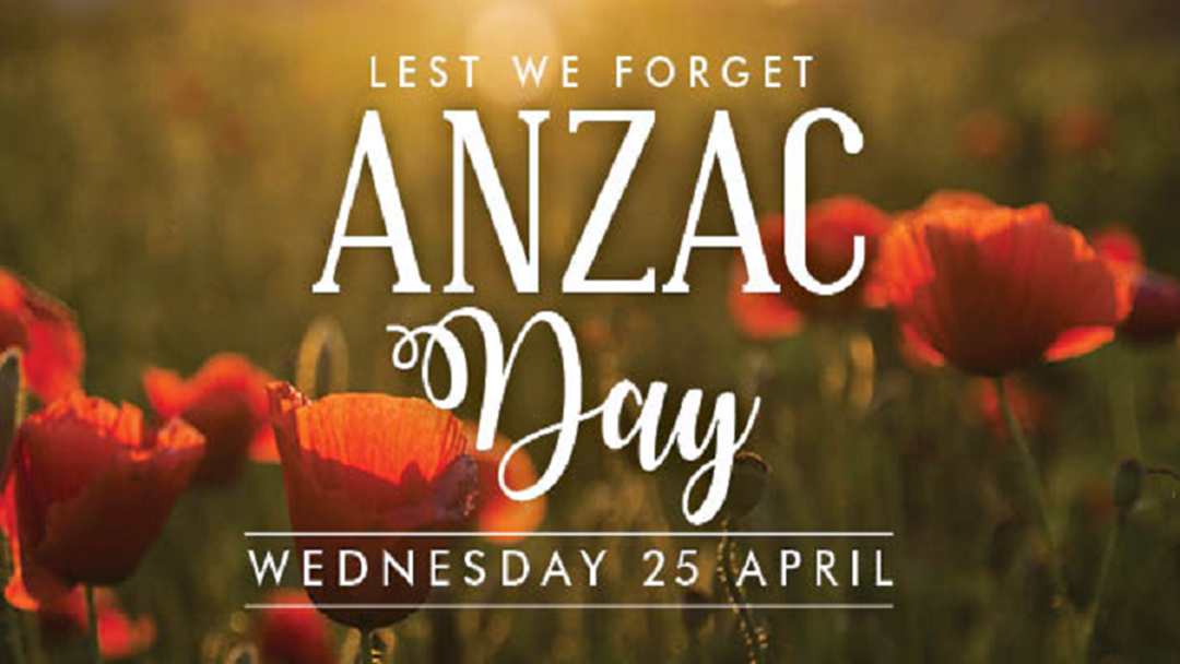 Article heading image for ANZAC Day 2018
