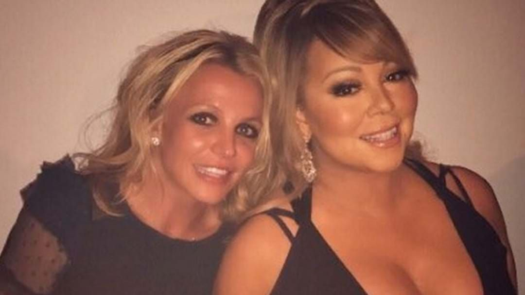 Article heading image for Rumour: Britney Spears And Mariah Carey About To Drop A Song TOGETHER!