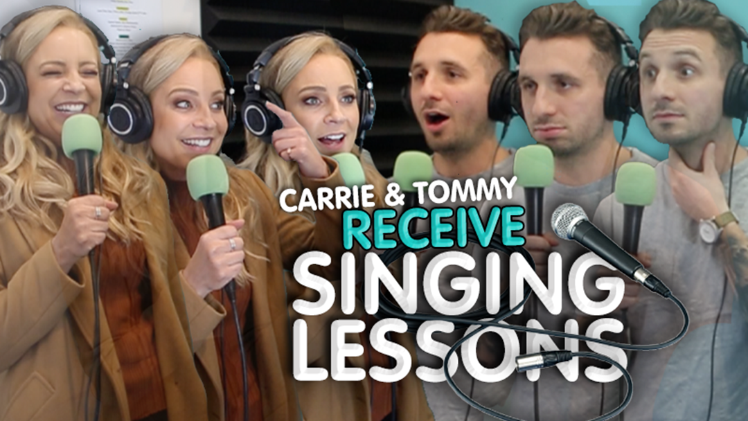 Article heading image for Carrie & Tommy Receive Singing Lessons