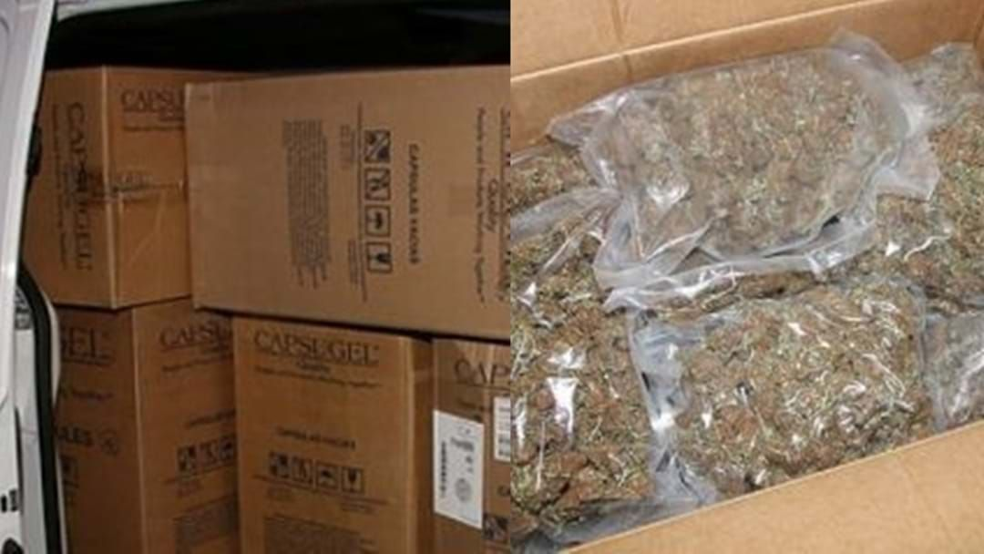 Article heading image for Police Seize More Than $1Million in Cannabis In Routine Traffic Patrol