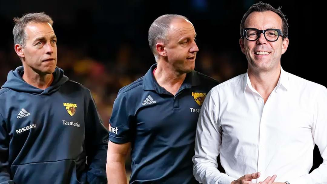 Article heading image for Hawthorn's GM Of Footy Rob McCartney Joins The Saturday Rub