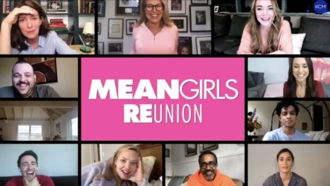 Article heading image for The Mean Girls Cast Just Got Together For The Reunion We DIdn't Know We Needed