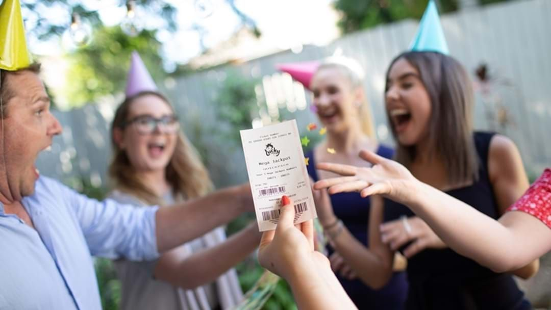 Article heading image for Toowoomba Dad Wins $200,000 in Lucky Lotteries!