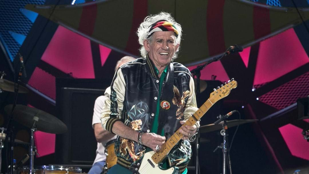 "Article heading image for We Finally Know How Keith Richards ""Stays In Shape"" And Yep, It's Exactly What We Suspected"