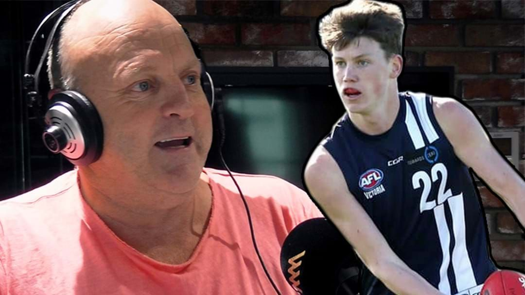"""Article heading image for """"Bit Of A Strut!"""": Sam Walsh Reviews Billy Brownless's Form During The Geelong Falcons Days"""