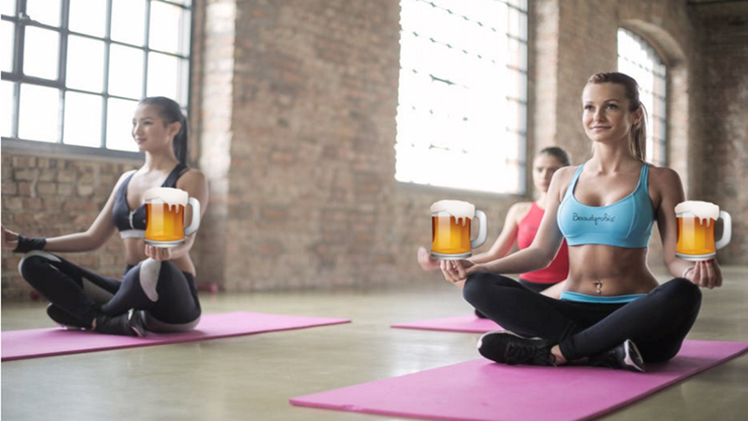Article heading image for Shout Out To Townsville Yogis, A 'Beer n Bend Yoga Class' Is Coming