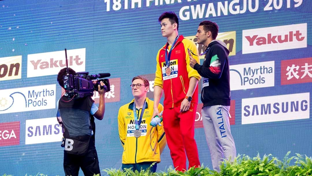 Article heading image for Mack Horton Refuses To Stand On Podium With Chinese Swimmer Embroiled In Drug Controversy