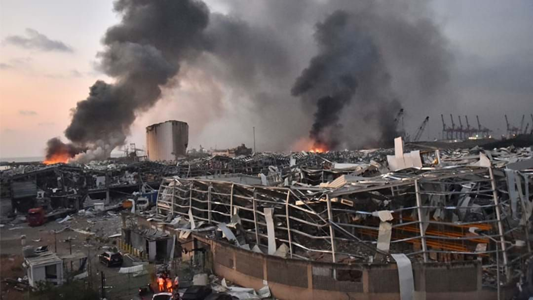 """Article heading image for Australian Man In Beirut Describes Explosion: """"It's Worse Than What You've Seen"""""""