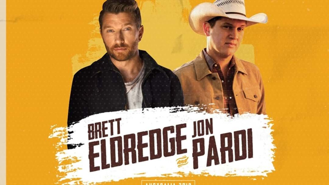 Article heading image for Brett Eldredge and Jon Pardi's Australian Show's Announced!