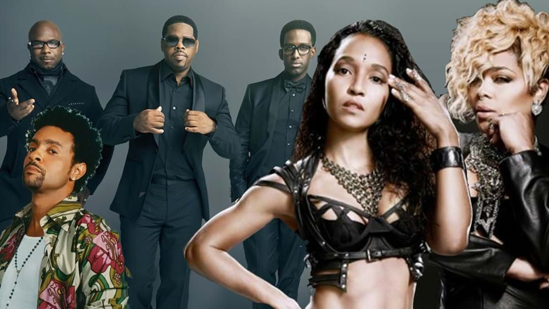 Article heading image for OMG Boyz II Men, TLC and Shaggy Are Touring Australia!