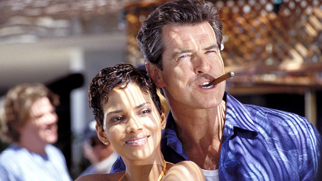 Article heading image for Pierce Brosnan Had To Do The Heimlich Manoeuvre On Halle Berry While Filming Die Another Day