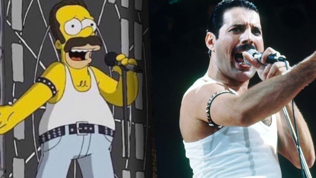 Article heading image for The Simpsons Have Reportedly Recreated Queen's Live Aid Performance