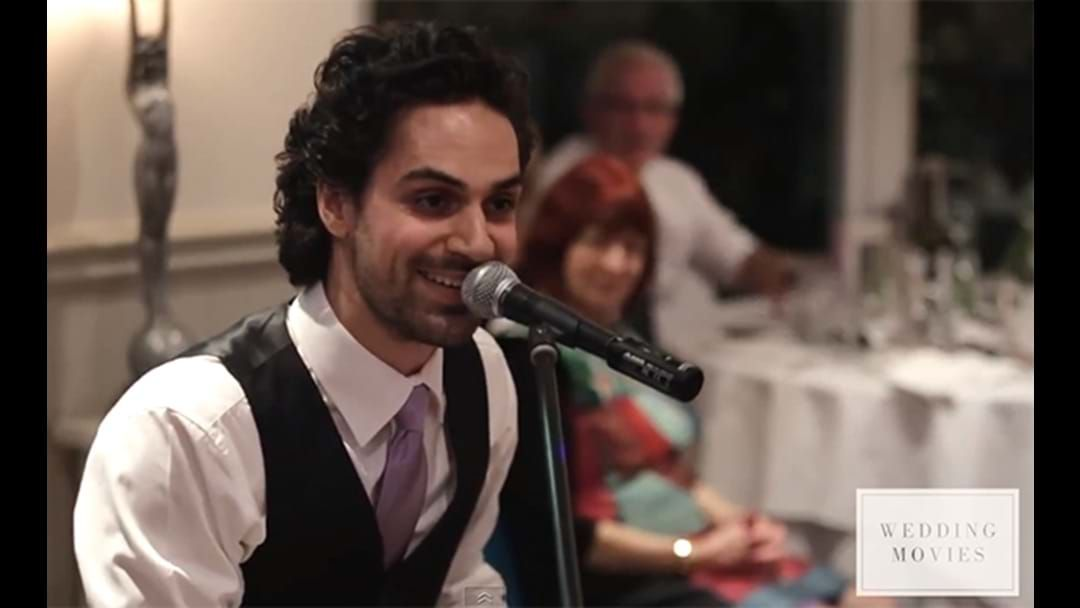 Article heading image for This Aussie Bloke Unleashed One Of The Greatest Best Man Speeches Of All Time