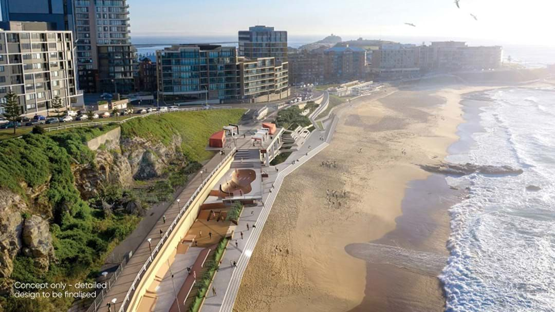 Article heading image for Revamped Designs For Newcastle Beach Revealed