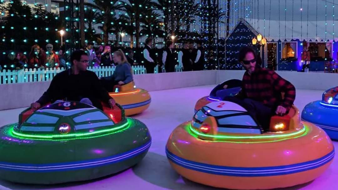 Article heading image for Actual Bumper Cars On Ice Are Coming To Sydney