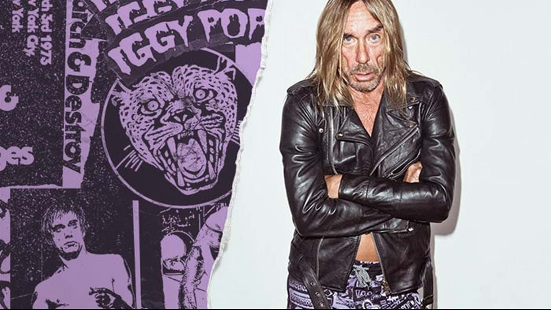 Article heading image for Iggy Pop Releases Surf Wear Line