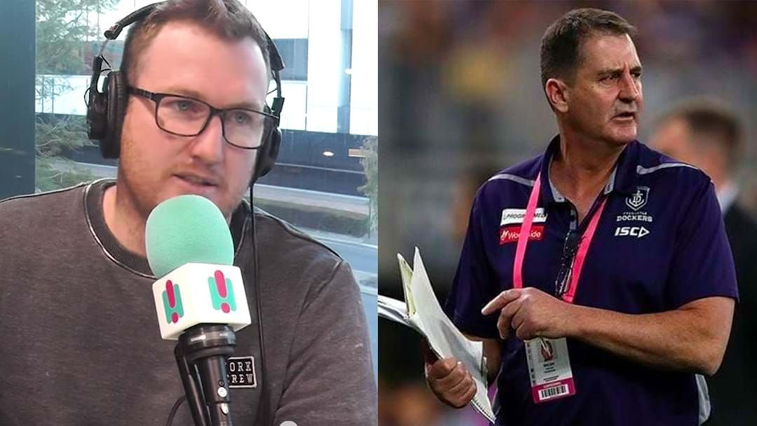 Article heading image for Xavier Ellis Weighs In On Fremantle's Decision To Axe Ross Lyon