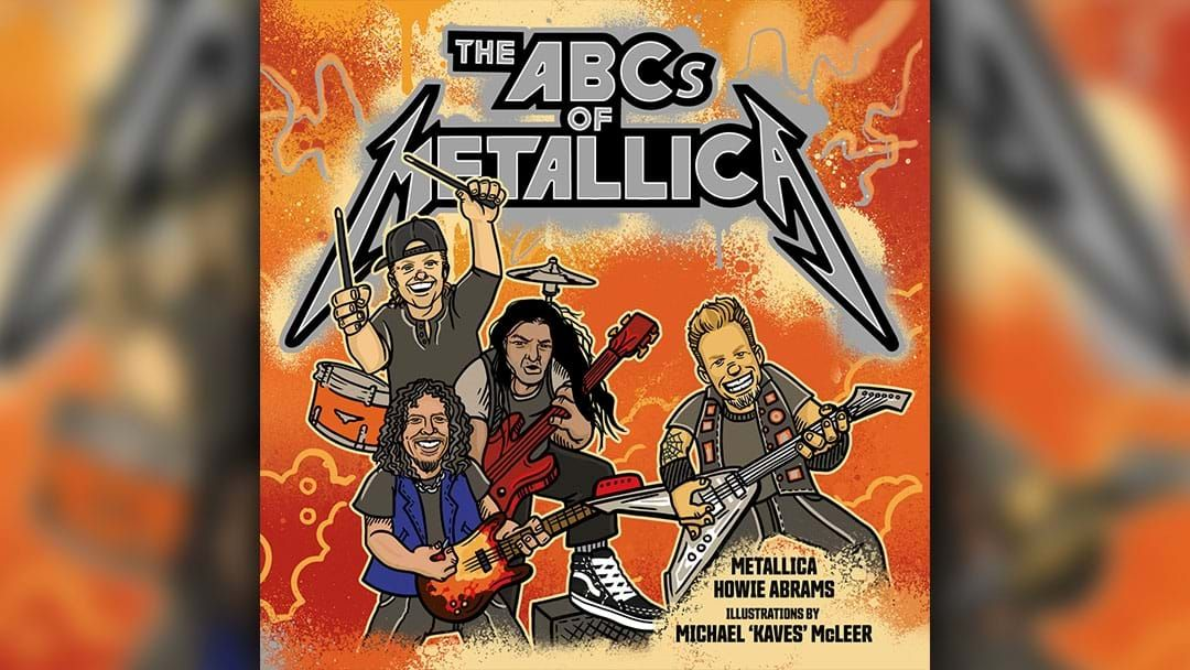 Article heading image for Metallica Are Releasing A Kid's Book