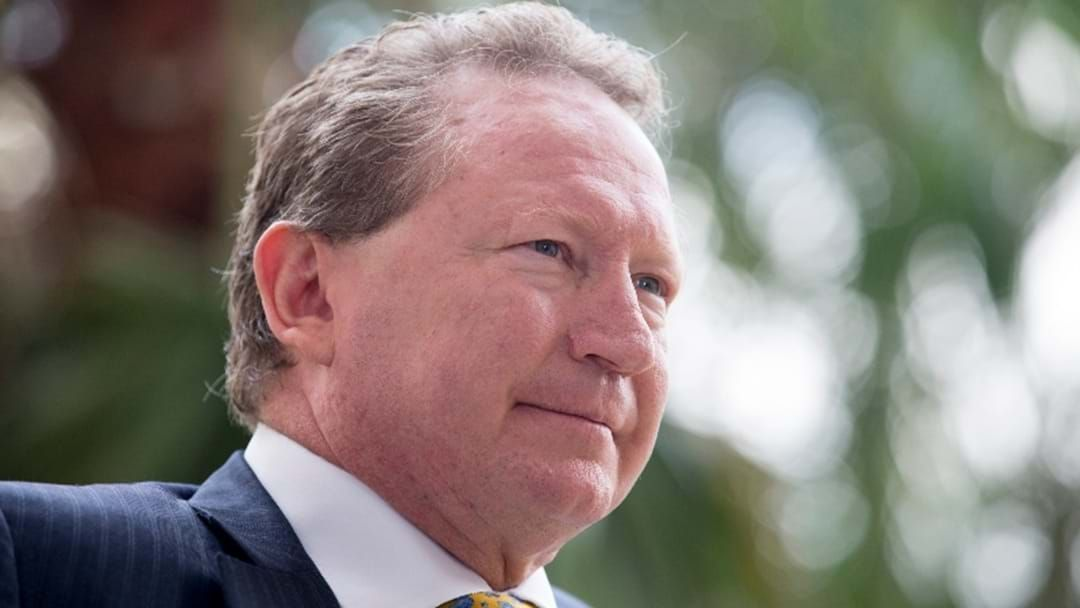 Article heading image for Twiggy Forrest Urges Tasmania To Get On Board Before It's Too Late