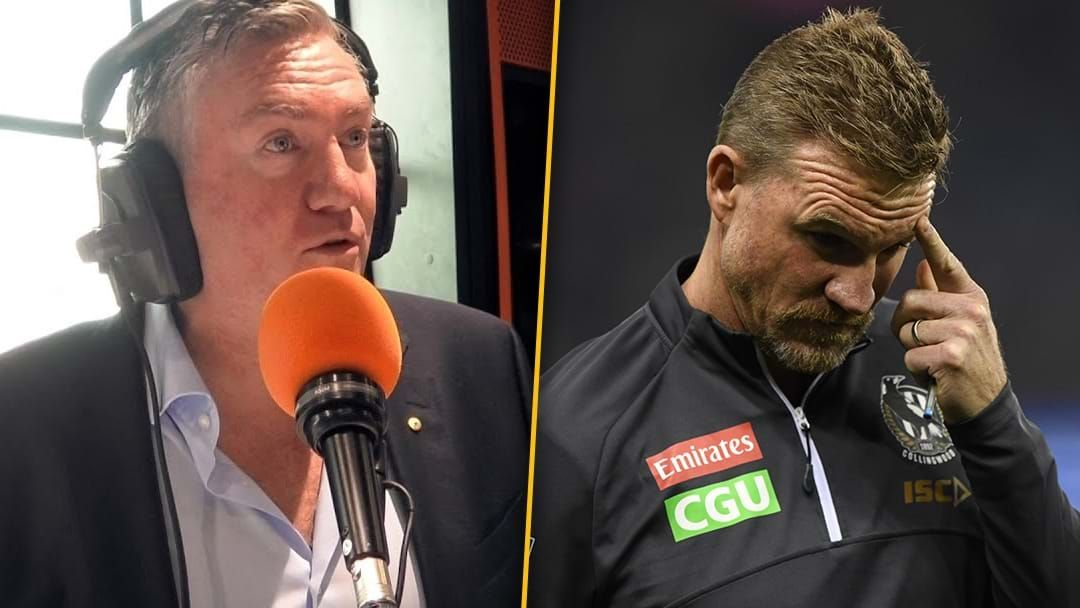 Article heading image for Eddie Responds To Nathan Buckley's Comments & The Fallout At Collingwood