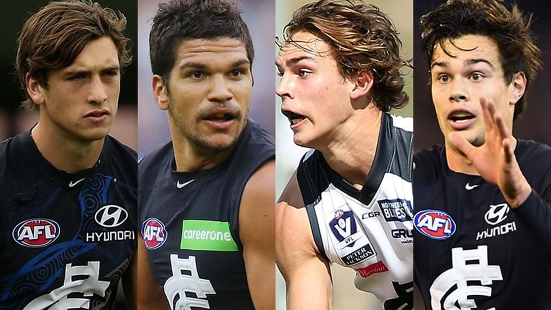 Article heading image for Carlton Aiming For Rising Star History