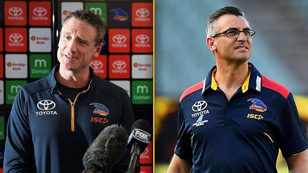 Article heading image for Brett Burton And Scott Camporeale Sacked As Crows Finalise Football Department Review