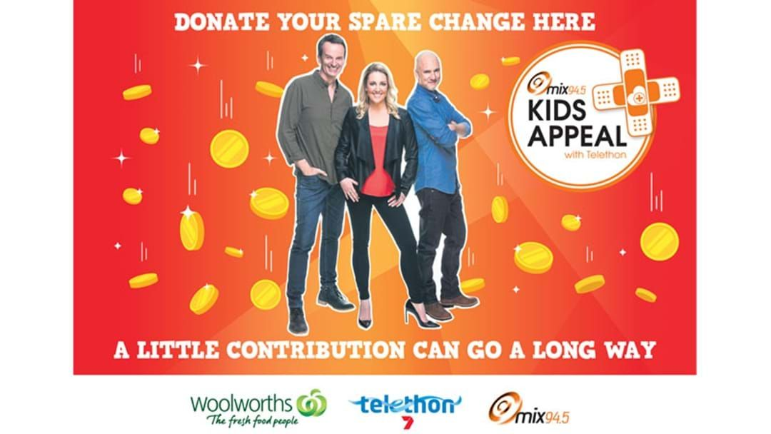 Article heading image for Donate to mix94.5's Kids Appeal with Telethon