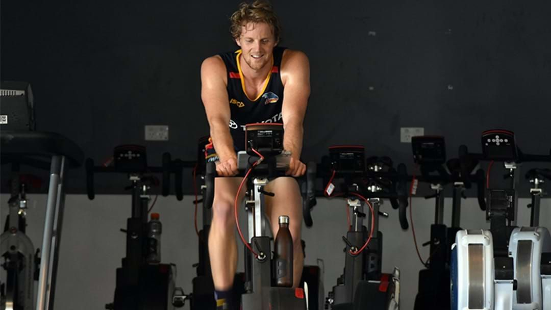 Article heading image for Rory Sloane Explains What It's Like To Be At A Footy Club During The Coronavirus Pandemic