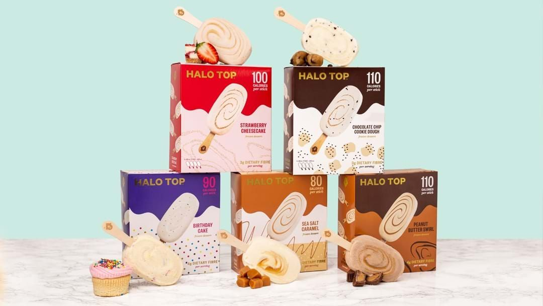 Article heading image for Halo Top Has Launched A Brand New Snackable Range