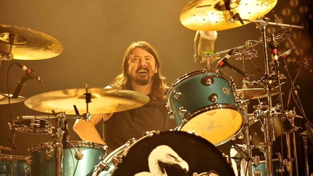 Article heading image for Dave Grohl's Drumming In A New Band