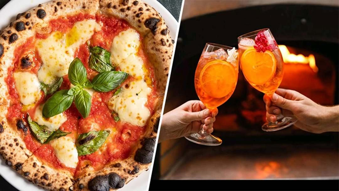 Article heading image for Cure Your Monday-itis At This Bottomless Boozy Pizza Night