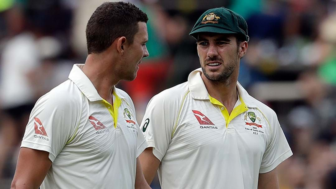Article heading image for Josh Hazlewood & Pat Cummins Ruled Out Of Next Test Tour