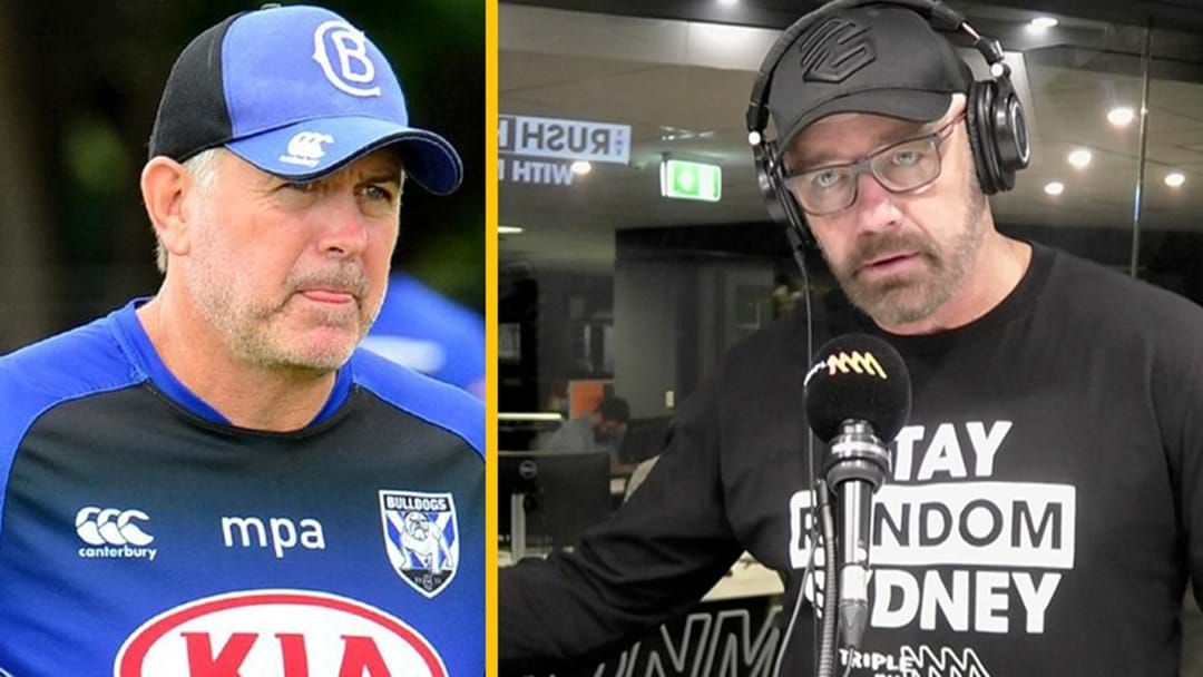 Article heading image for Mark Geyer Has Blasted The Bulldogs Management Over Threats To Sack Dean Pay