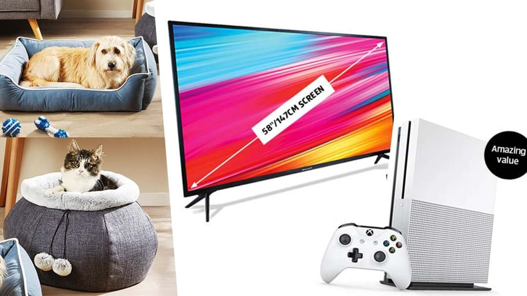 "Article heading image for Aldi Is Selling 58"" TVs, Xbox Bundles & MORE Next Week"