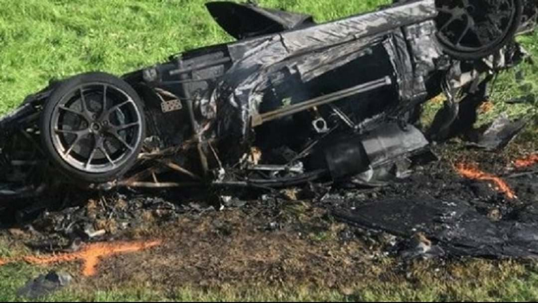 Article heading image for Top Gear Star Survives Fireball Crash