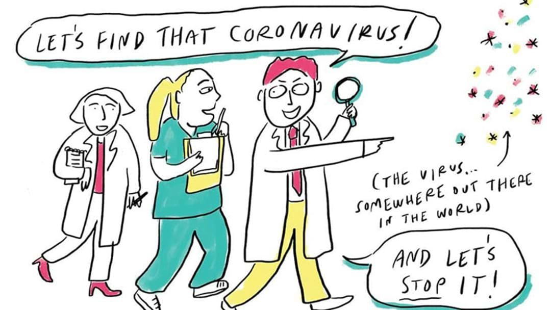 Article heading image for We've Found The Perfect Way To Calm Your Child If They Are Anxious About Coronavirus