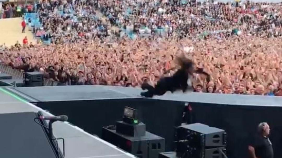Article heading image for Foo Fighters Freak Out Fans With Stage Prank