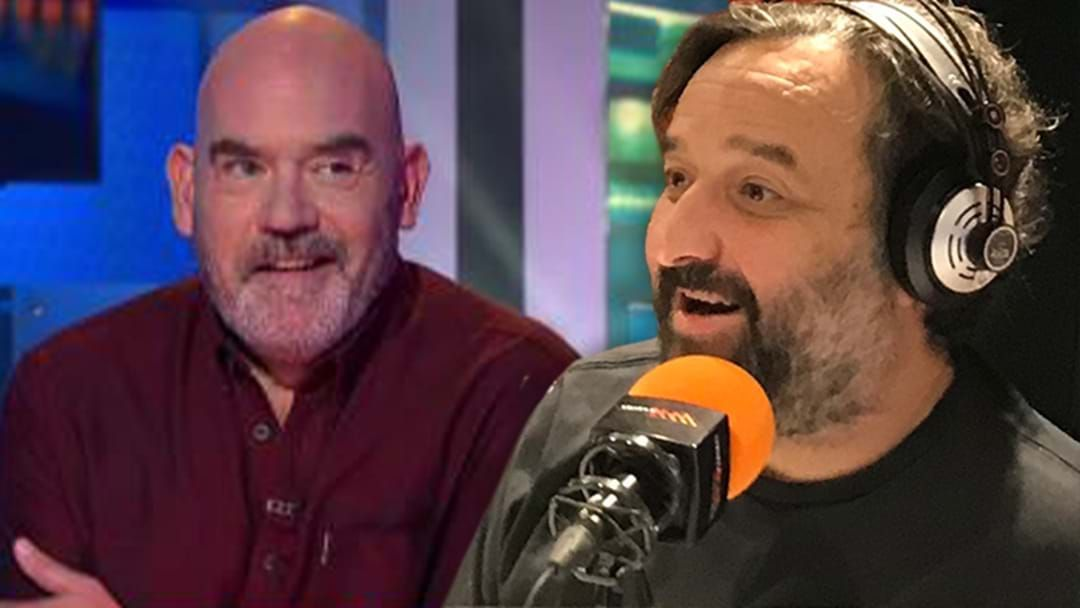 "Article heading image for ""Hang On!"" Mick Molloy's Accidental Marty Sheargold HYBPA Sledge"