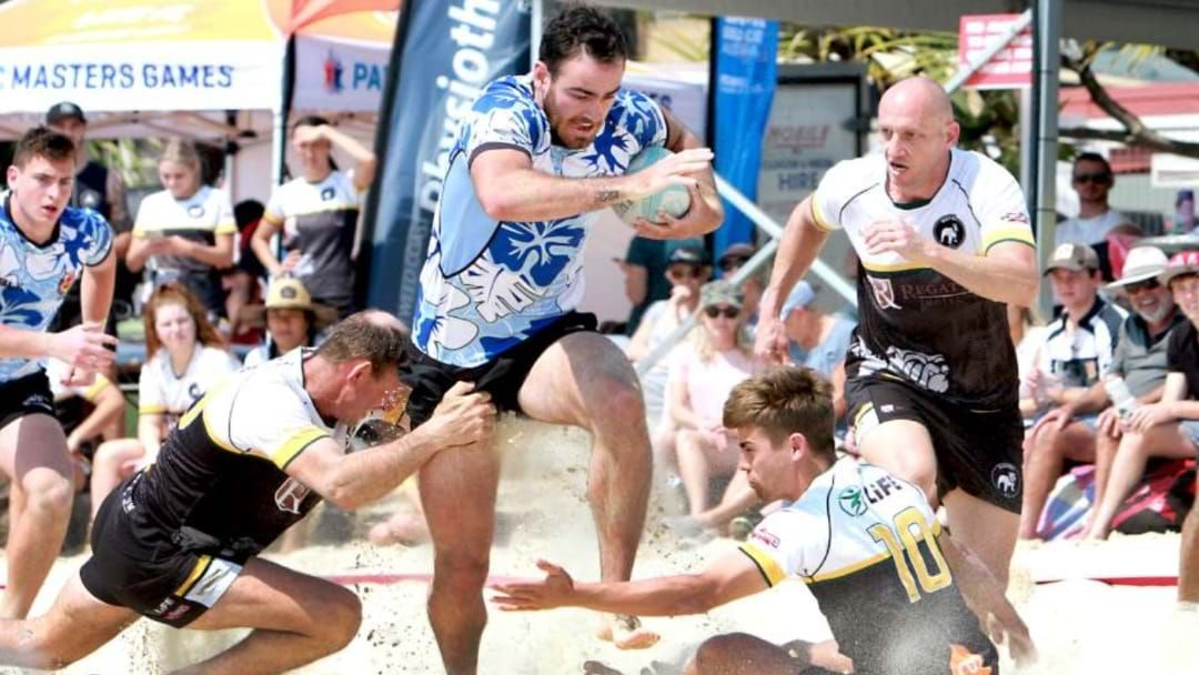 Article heading image for The Strand Is Going To Host A Beach Rugby Comp, So Get Training