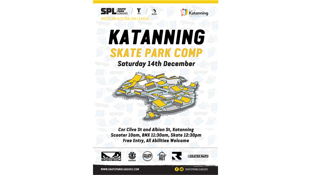 Article heading image for Katanning Skate Park Comp