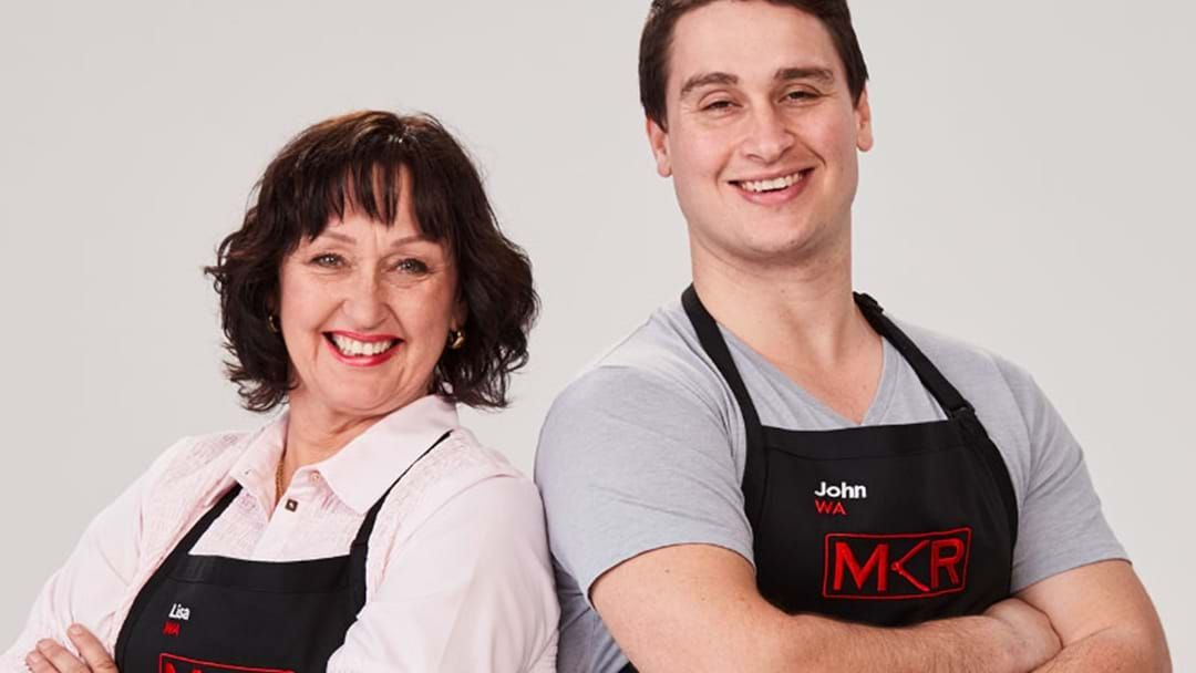 Article heading image for MKR's Lisa And John Speak Ahead Of Their Big Cook Tonight