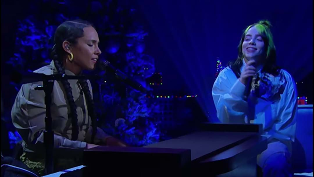 Article heading image for Here's The Alicia Keys Billie Eilish Duet You Never Knew You Needed