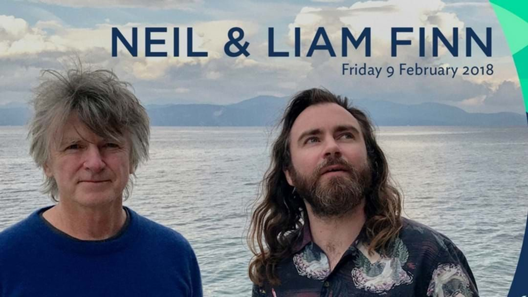 Article heading image for Neil & Liam Finn are performing in Cairns next Friday night!