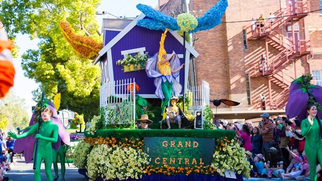 Article heading image for Entries Open for Grand Central Floral Parade
