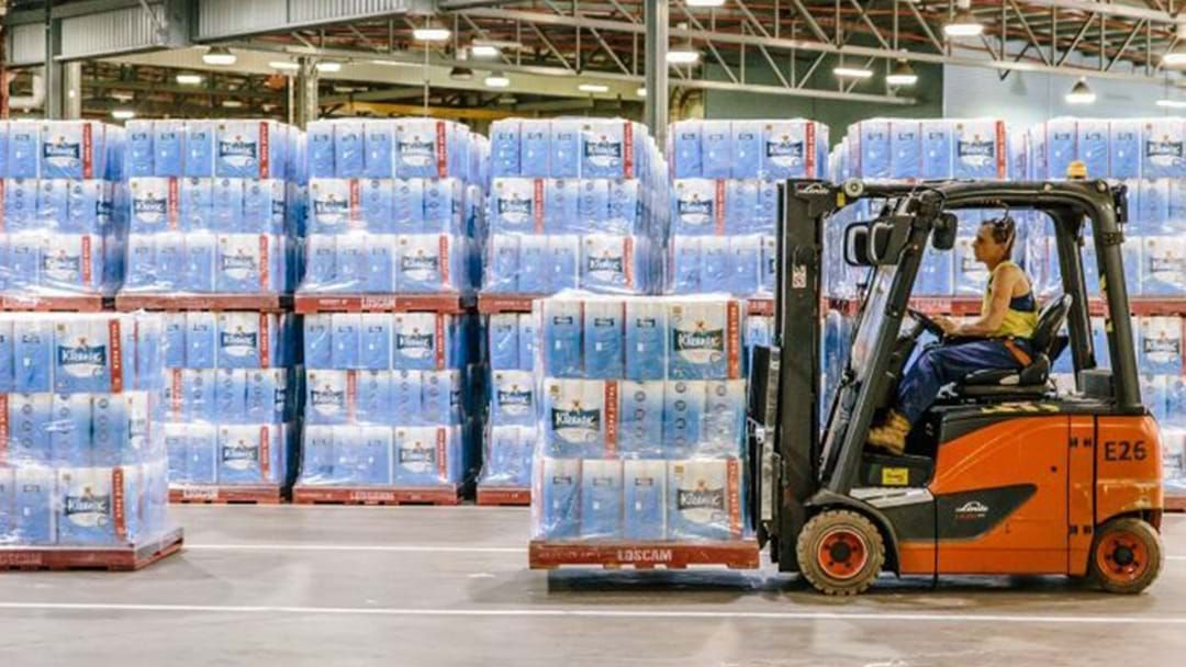 Article heading image for Toilet Paper Distribution Centre Explains How Much Toilet Paper There Is To Go Around