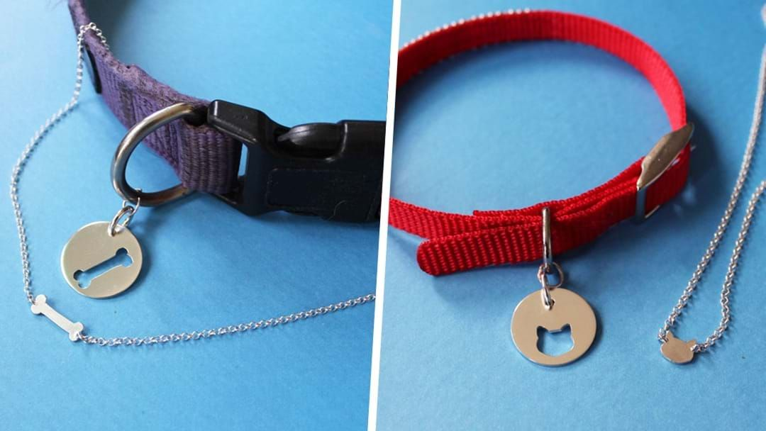 Article heading image for You Can Now Get Matching Necklaces For You & Your Dog Or Cat!